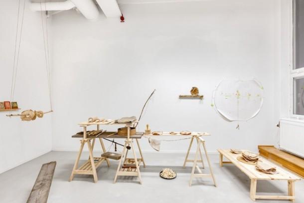 Futurefermers, Installation-atelier Flatbread Society, Réactivation pour le Domaine de Chamarande © Droits réservés