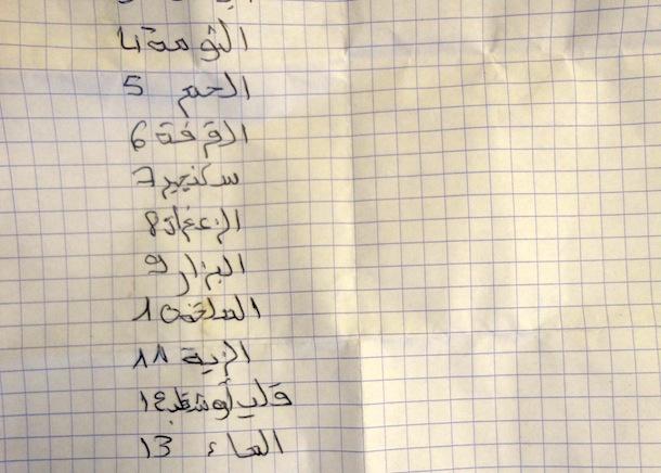 recette arabe 3