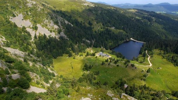 17 lac du forlet plongée