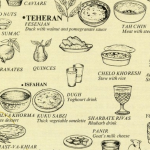 Saveurs, épices et lettres persanes