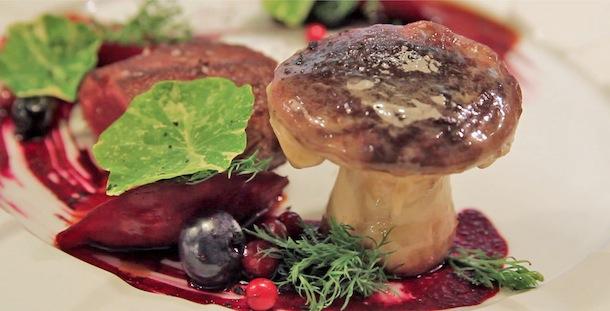 PLAT  chevreuil et Bolet