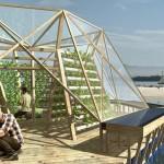 Des jardins potagers flottants autosuffisants