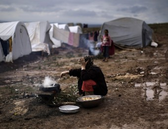 Mideast Syria Refugee Winter