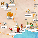 La carte des céréales