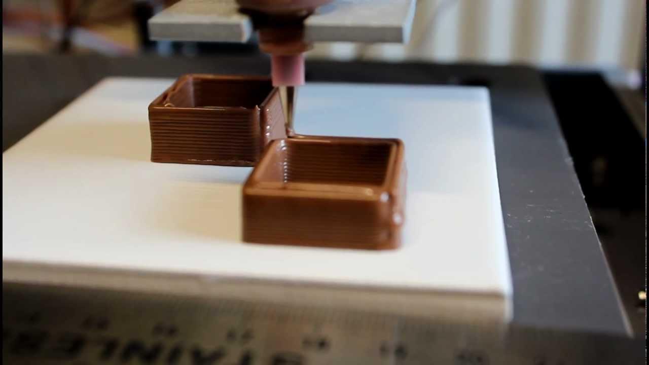 L 39 impression 3d fait ses premiers pas dans la chocolaterie for Salon impression 3d