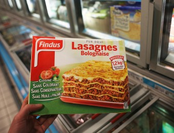 Retrait des produits Findus apres la decouverte de viande de cheval en Grande Bretagne