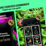 Adresses Gourmandes, l'appli