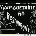 The first French porn film took place at a restaurant