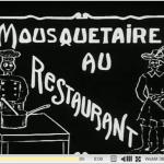 Le premier film pornographique français se passait au restaurant
