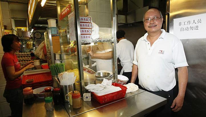 Tang Chay Seng au Tai Hwa Pork Noodle stal
