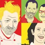 Cuisines populaires, plats de résistance et restaurants perchés