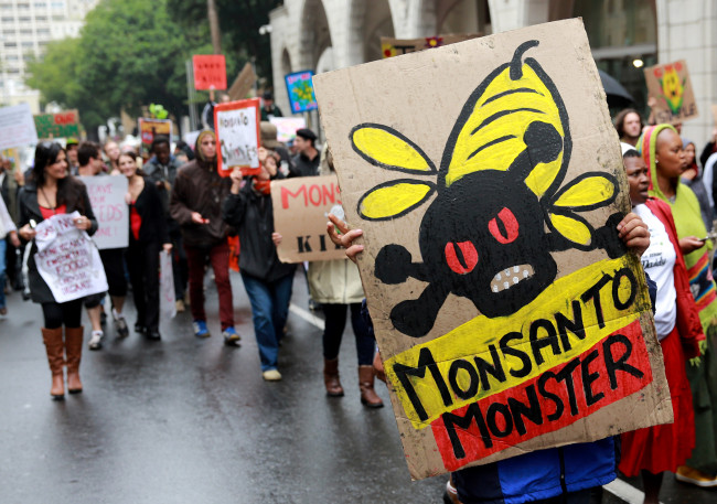 Défilé contre la multinationale Monsanto