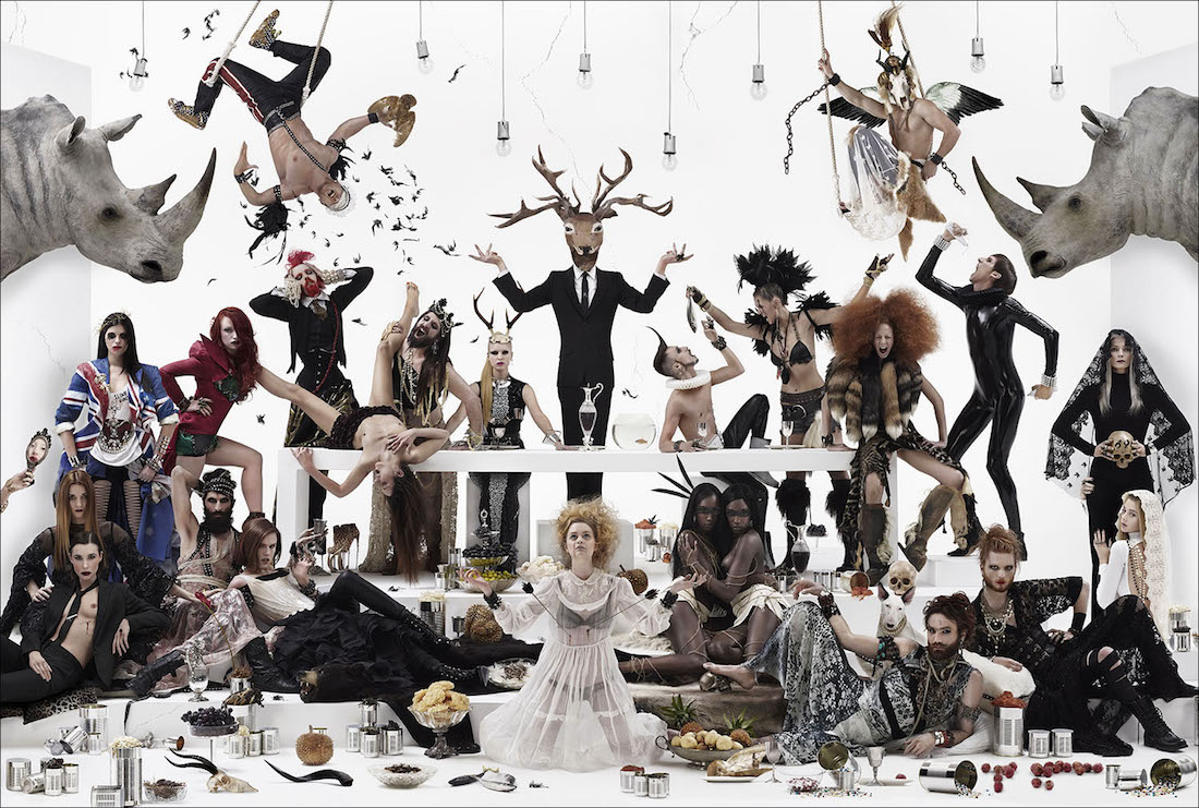 La cène ou le dernier banquet