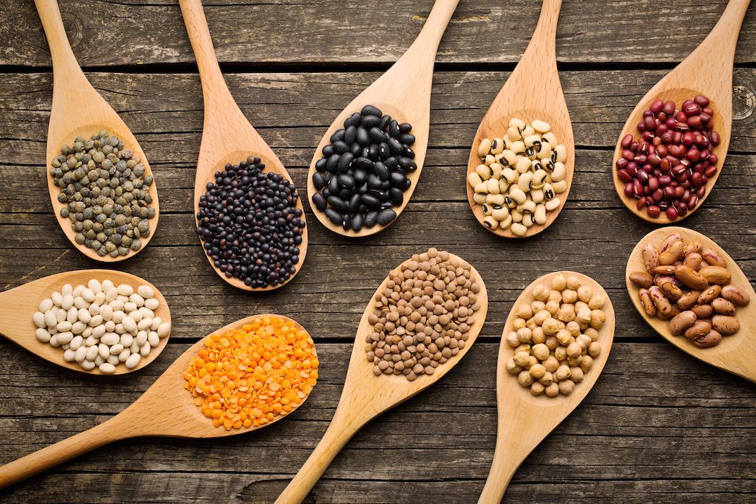 Les legumes secs, bons pour la santé