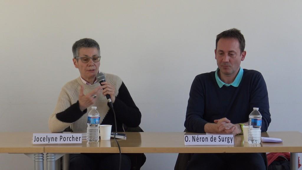 Jocelyne Porcher et Olivier Néron de Surgy