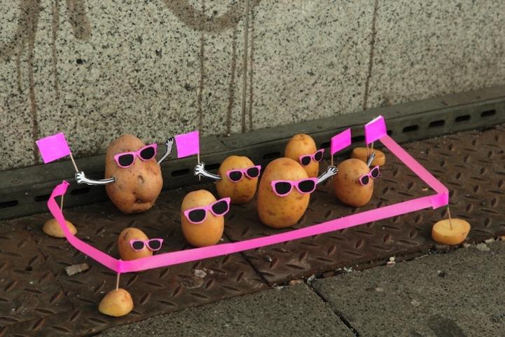 Manifestation de patates
