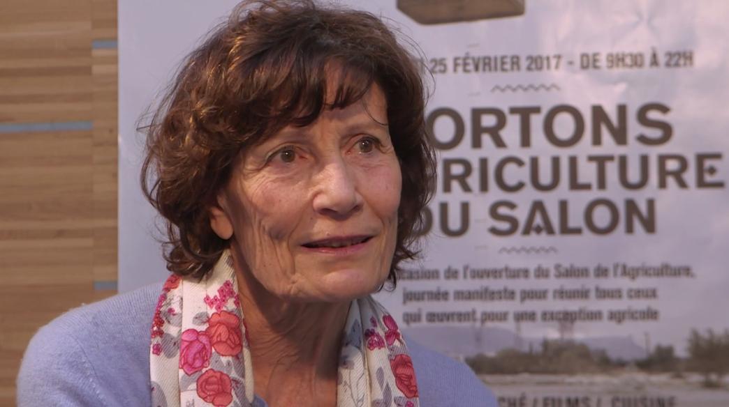 Denise Vuillon, créatrice de la première AMAP