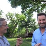 Michel Bras découvre la fantastique histoire du sauvetage de la vache nantaise
