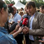 Nicholas Hulot attends the Fermes d'Avenir Tour