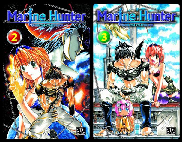 Marine Hunter manga T1 et T2