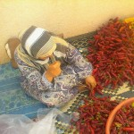 Women in rural Tunisia mix hot sauce with business