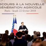 700 jeunes agriculteurs sous les ors de l'Élysée